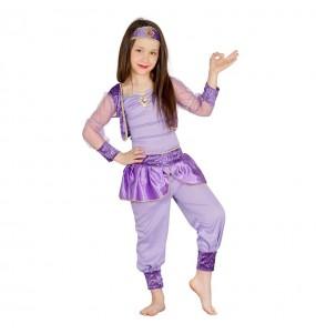 Disfarce Princesa Árabe Odalisca menina para que eles sejam com quem sempre sonharam