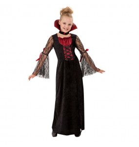 Disfarce Halloween Vampiro gótico meninas para uma festa Halloween