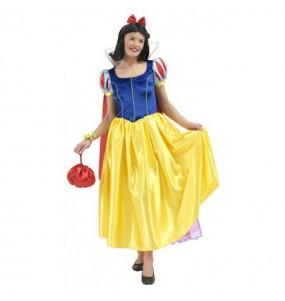 Disfarce original Branca de Neve - Disney™ mulher ao melhor preço