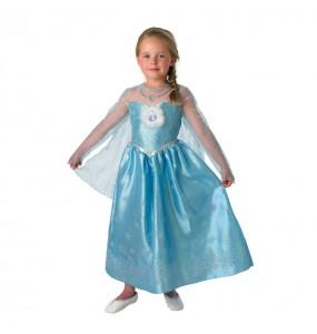 Disfarce Elsa Frozen Deluxe - Disney? menina para que eles sejam com quem sempre sonharam