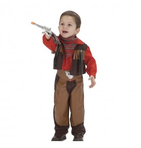 Disfarce Cowboy Luxo beb? para deixar voar a sua imagina??o