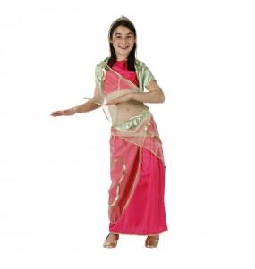 Disfarce Dançarina Árabe menina para que eles sejam com quem sempre sonharam
