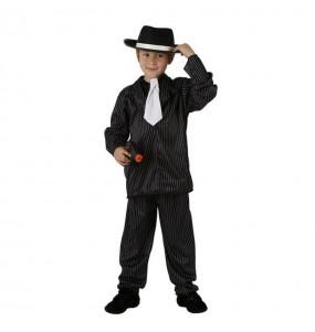 Disfarce Gangster menino para deixar voar a sua imaginação