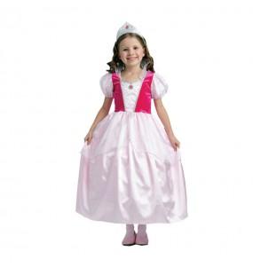 Disfarce Princesa Rosa Conto menina para que eles sejam com quem sempre sonharam