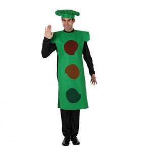 Disfarce Semáforo verde adulto divertidíssimo para qualquer ocasião