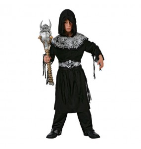 Disfarce Halloween Senhor da Morte para meninos para uma festa do terror