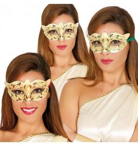 Máscara carnaval veneziano para completar o seu fato Halloween e Carnaval