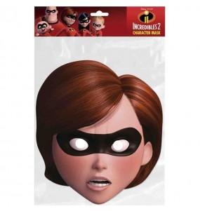 Máscara Helena de Os Incríveis para mulher para completar o seu fato Halloween e Carnaval
