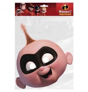 Máscara Zezé de Os Incríveis para menino para completar o seu fato Halloween e Carnaval