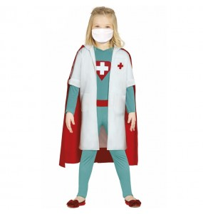 Fato de Super Médica para menina