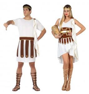 O casal Gregos original e engraçado para se disfraçar com o seu parceiro