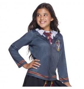 Fato tee-shirt Gryffindor menino