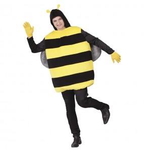 Disfarce Abelhão amarelo adulto divertidíssimo para qualquer ocasião