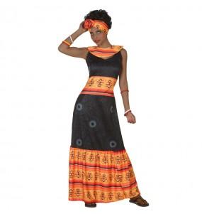 Disfarce original Africana mulher ao melhor preço