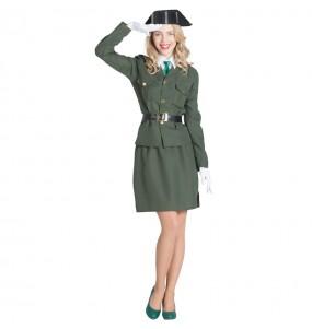 Fato de Agente da Guardia Civil para mulher