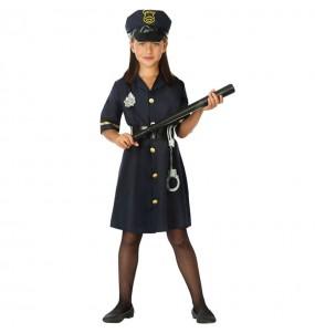 Fato de Oficial de Polícia para menina