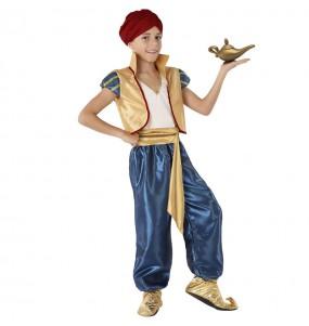 Fato de Aladdin do Deserto para menino