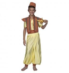 Disfarce Aladdin menino para deixar voar a sua imaginação