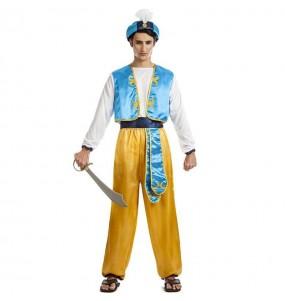 Fato de Príncipe Árabe Aladino para homem