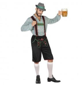 Fato de Alemão festa da cerveja para homem