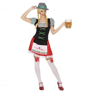 Fato de Alemã festa da cerveja para mulher