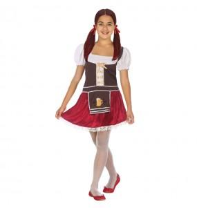 Disfarce Alemanha Oktoberfest menina para que eles sejam com quem sempre sonharam
