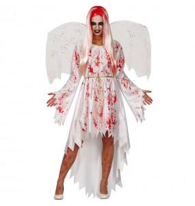 Fato de Anjo Sangrento para mulher