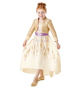 Disfarce Anna Frozen 2 Prologue menina para que eles sejam com quem sempre sonharam