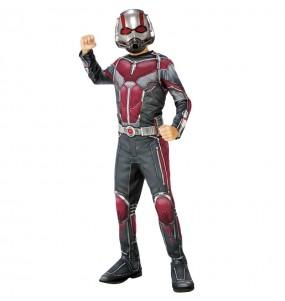 Disfarce Ant-Man menino para deixar voar a sua imagina??o