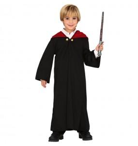 Fato de Aprendiz de mago para menino