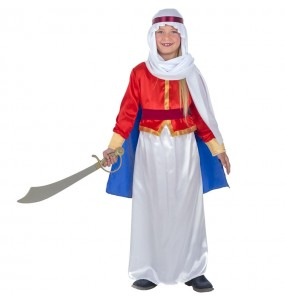 Disfarce Árabe Beduíno menina para que eles sejam com quem sempre sonharam