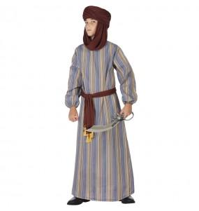 Fato de Árabe do deserto para menino