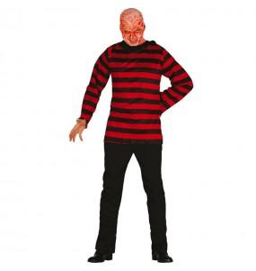 Disfarce Assassino Freddy adulto divertidíssimo para qualquer ocasião