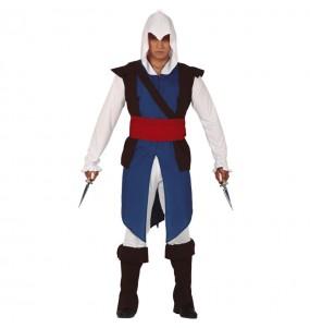 Disfarce Assassin's Creed Connor adulto divertidíssimo para qualquer ocasião