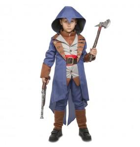 Disfarce Assassin's Creed Syndicate menino para deixar voar a sua imaginação