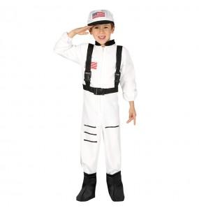 Disfarce Astronauta Americano menino para deixar voar a sua imaginação