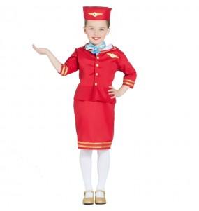 Disfarce Hospedeira Avião menina para que eles sejam com quem sempre sonharam
