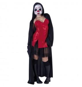Fato de Baby Killer mulher para a noite de Halloween