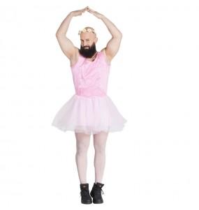 Disfarce Bailarina adulto divertidíssimo para qualquer ocasião