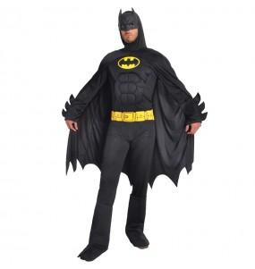 Fato de Batman musculoso classic para homem