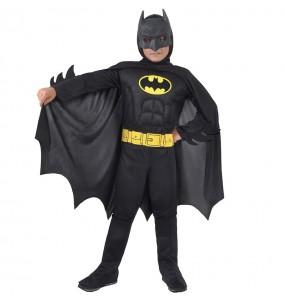 Fato de Batman musculoso Classic para menino