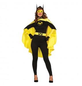 Disfarce original Super Heroína Batwoman mulher ao melhor preço