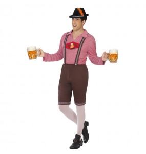 Disfarce Alemão Oktoberfest adulto divertidíssimo para qualquer ocasião