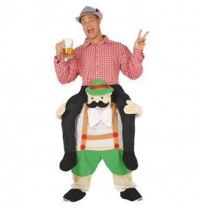 Disfarce Ride On Bávaro Oktoberfest adulto divertidíssimo para qualquer ocasião