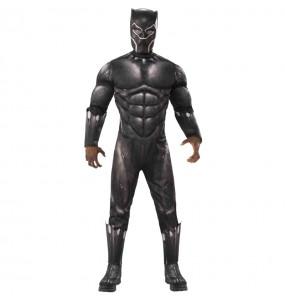 Disfarce Black Panther Os Vingadores adulto divertidíssimo para qualquer ocasião