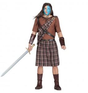 Disfarce Escocês Valente adulto divertidíssimo para qualquer ocasião