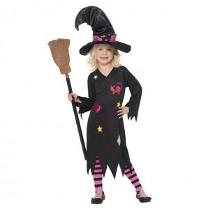 Fato de Bruxa candy para menina