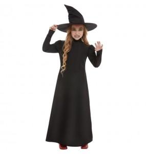 Fato de Bruxa Malvada para menina