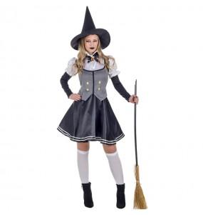 Fato de Bruxa Mística mulher para a noite de Halloween