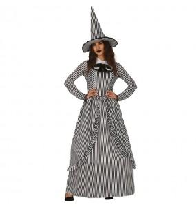 Fato da Bruxa Vintage para mulher